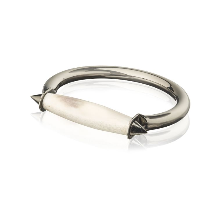 Blackened Reindeer Bracelet, icelandic jewellery