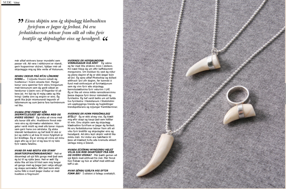 icelandic jewellery, fiona cribben